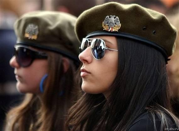 Девушки российские войска фото