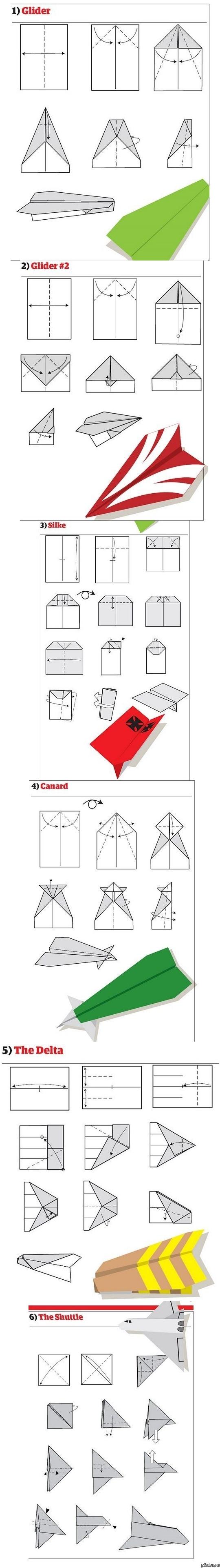 Как сделать самолетик из бумаги поэтапно фото 475