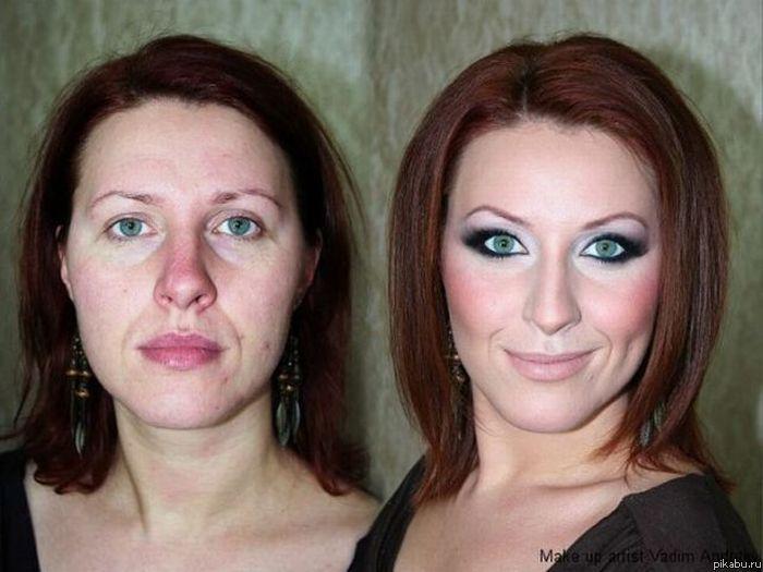 Как некрасивой девушке сделать макияж