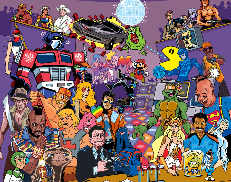 The 80s  TV Tropes