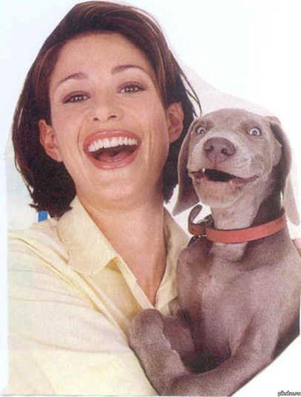 Член пса в ее попе 11 фотография