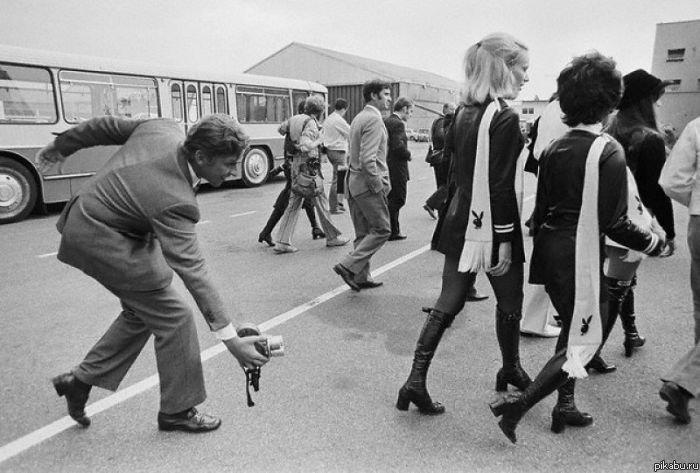 Девушки 1960-70х годов в мини-юбках (ФОТО) Мужикам - нет!