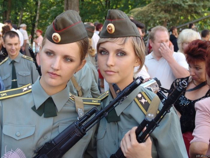 девушка армия фото