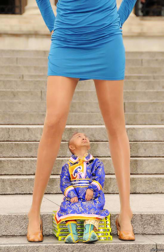 Как одеваться высоким девушкам - фото