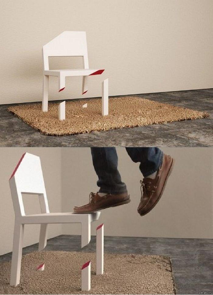 Как своими руками сделать креативный стул