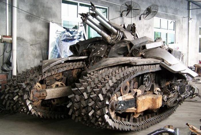 Как сделать своими руками танк чтобы мог ездить 89
