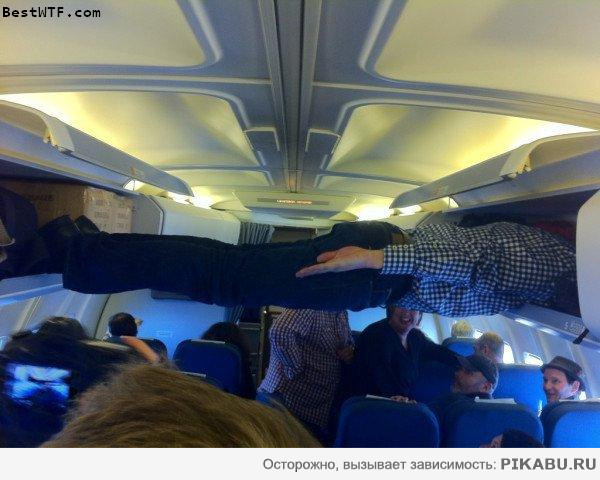 Planked airplane