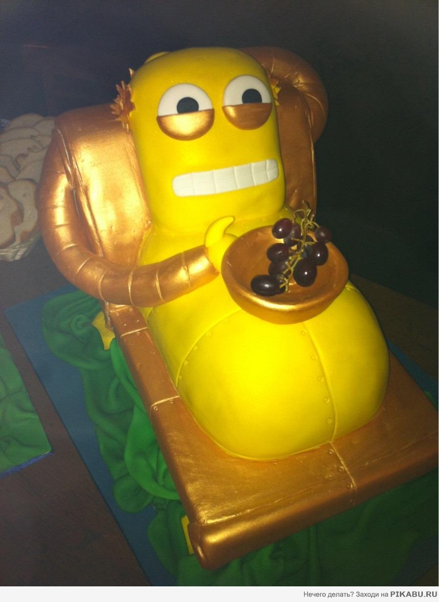 Праздничный торт )