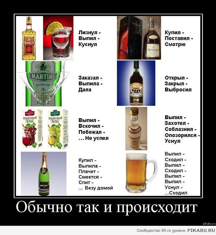 Стих не пей алкоголь