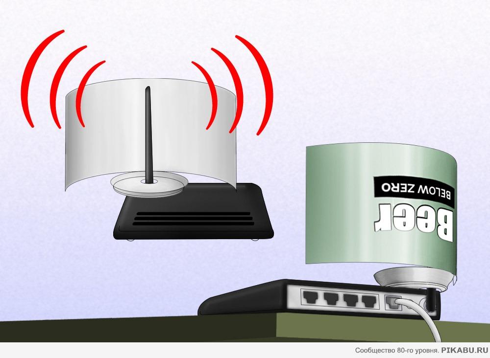 Улучшение сигнала wifi своими руками