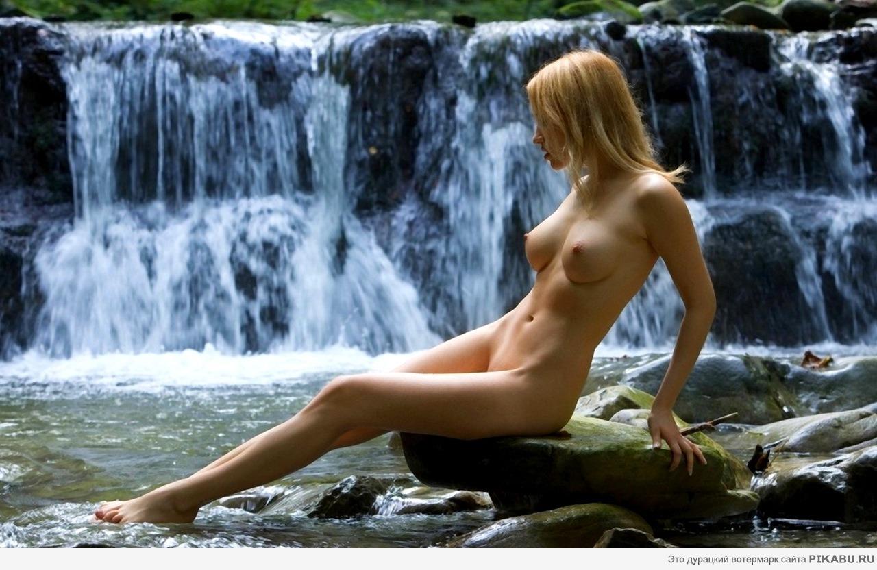 Секс в 3 у водопада 14 фотография