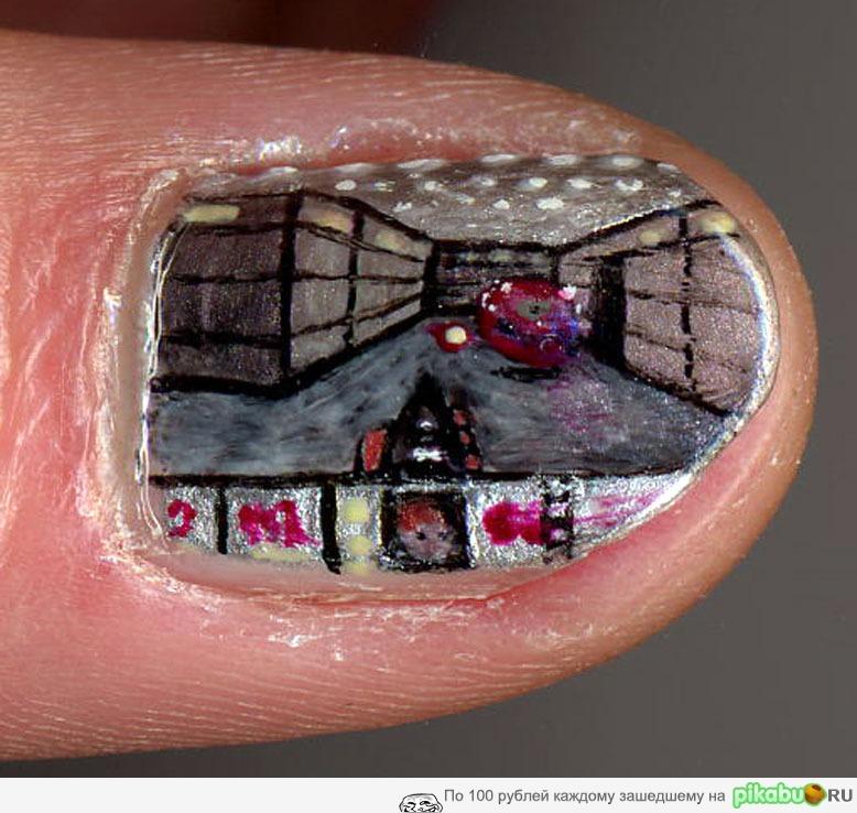 Ногти на фото приколы