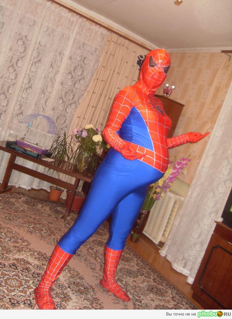 Женщина человек паук беременная 36