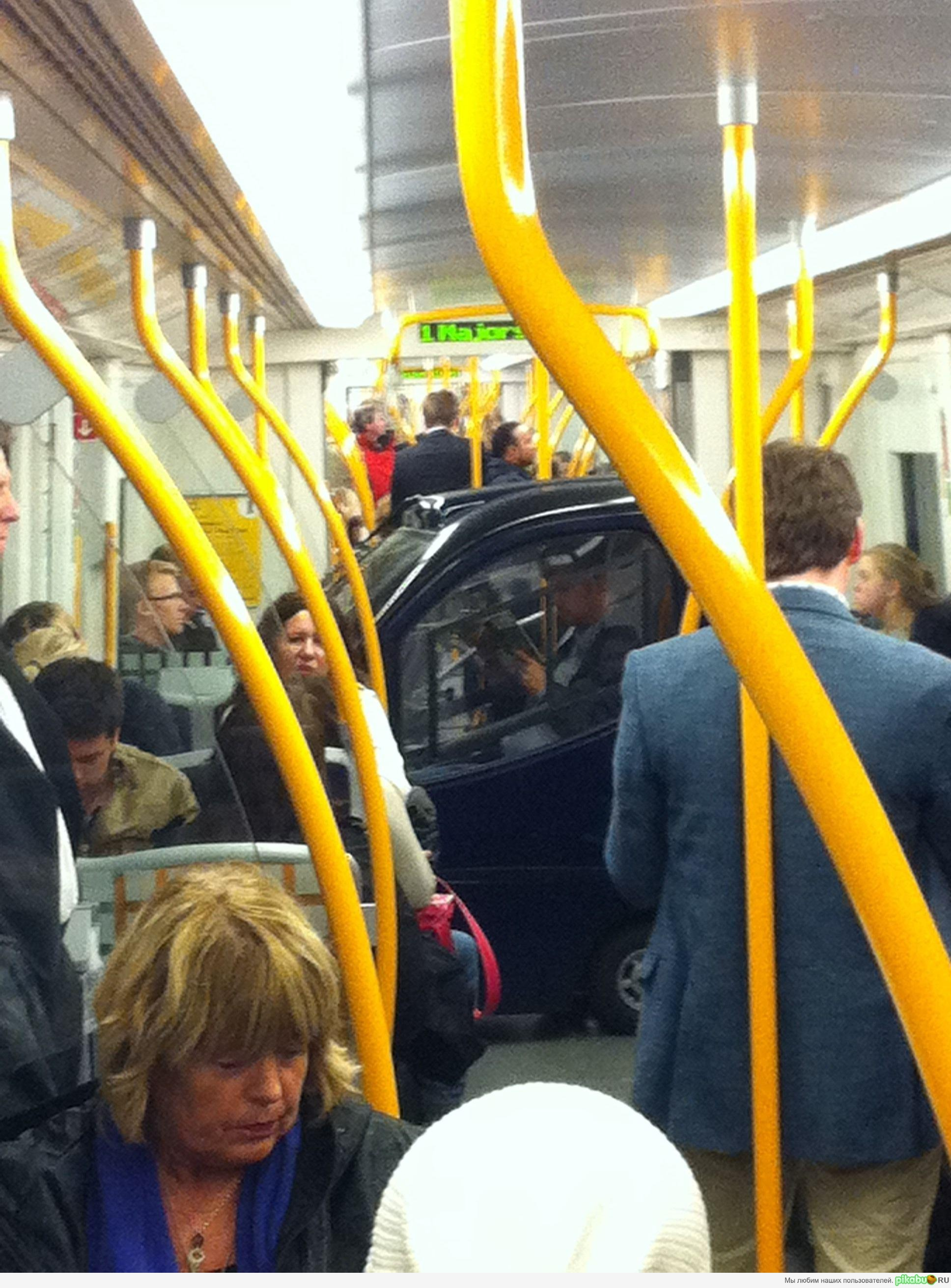 Фотки в общественном транспорте 16 фотография