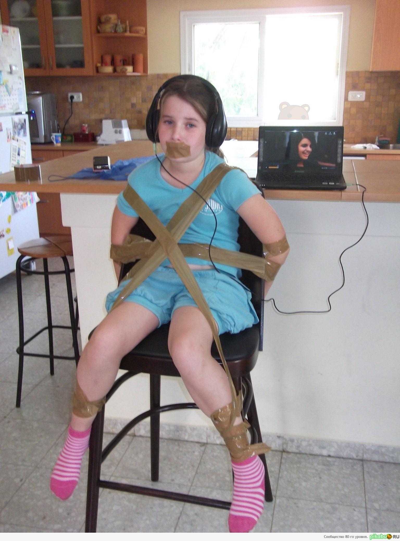 Связанные скотчем девочки фото 8 фотография
