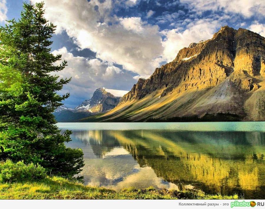 Красивый горный ландшафт скачать