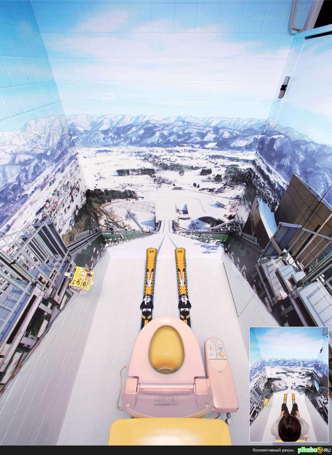 Georgia Max Coffee решили перестроить туалеты ряда ключевых лыжных
