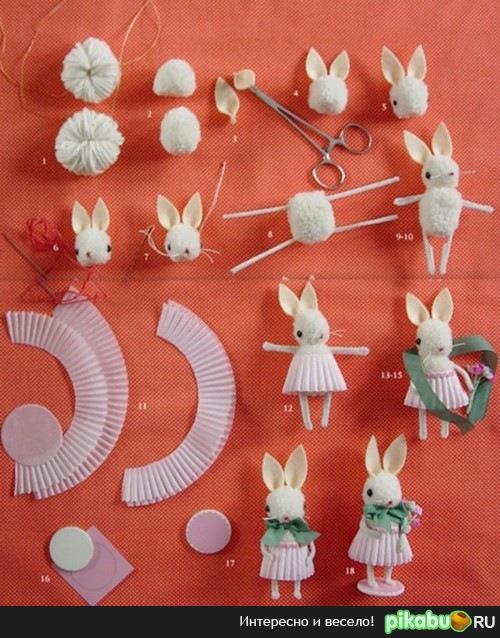 Зайцы сделанные своими руками фото