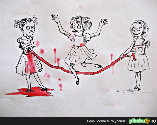девочки картинки рисунки