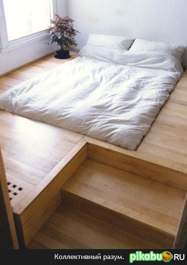 Подиум спальное место своими руками