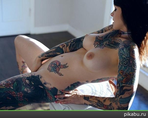 Фото татуированных девушек голых 92690 фотография
