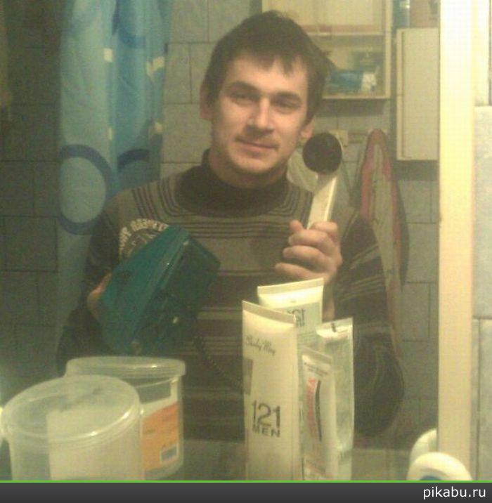 Как сделать фото самого себя в зеркале