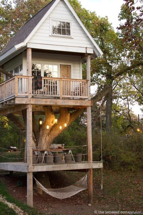Как сделать дом из дерева на дачу 702