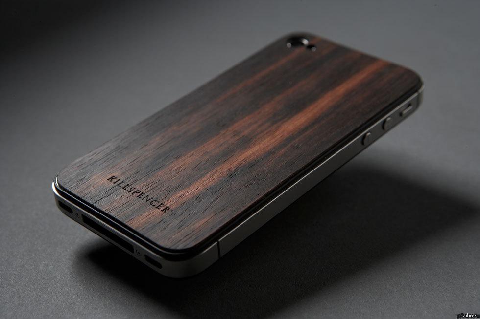 Чехол с дерева для телефона