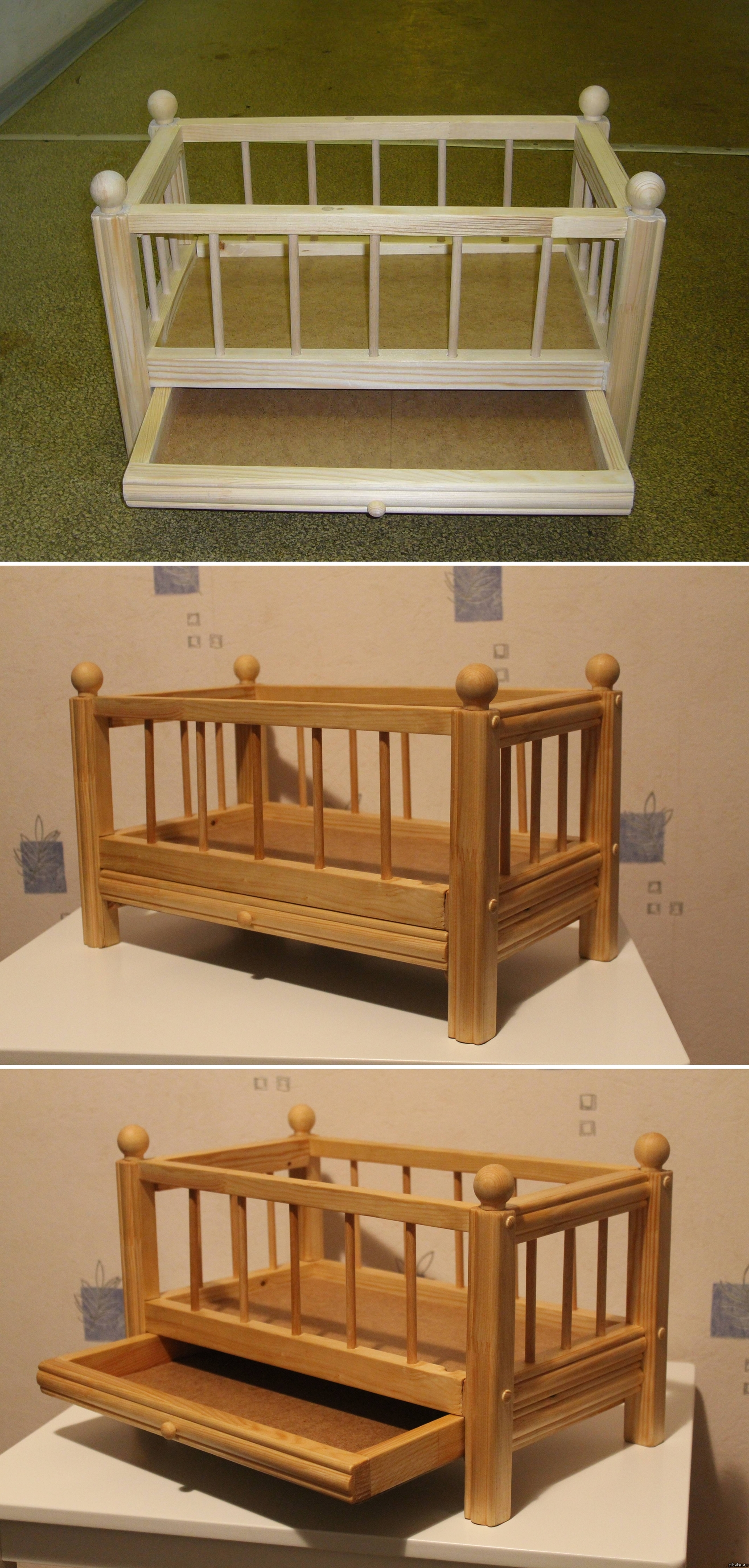 Кровать для куклы. Как сделать кровать для куклы своими руками? 31