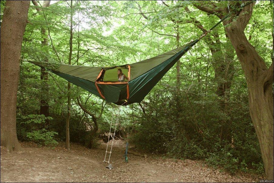 Палатки для отдыха своими руками 7