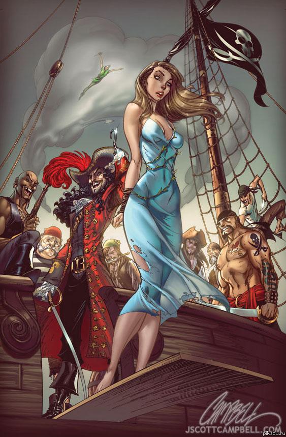 фото пиратов девушек