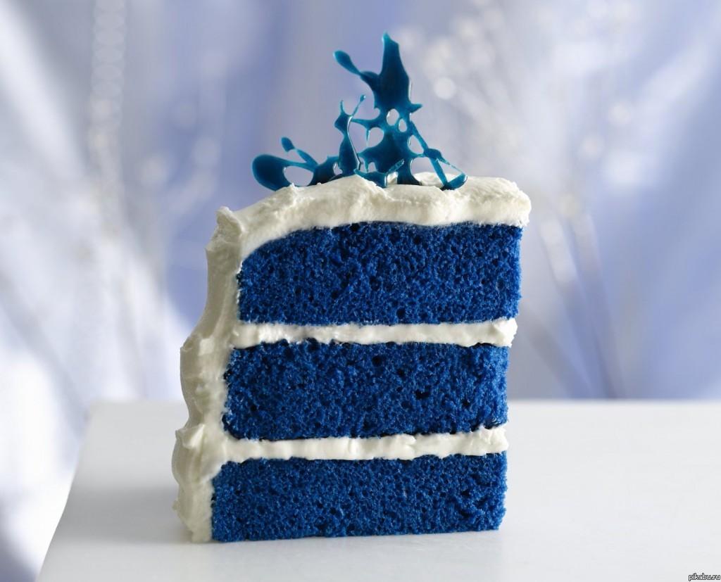 Синий бархат торт рецепт