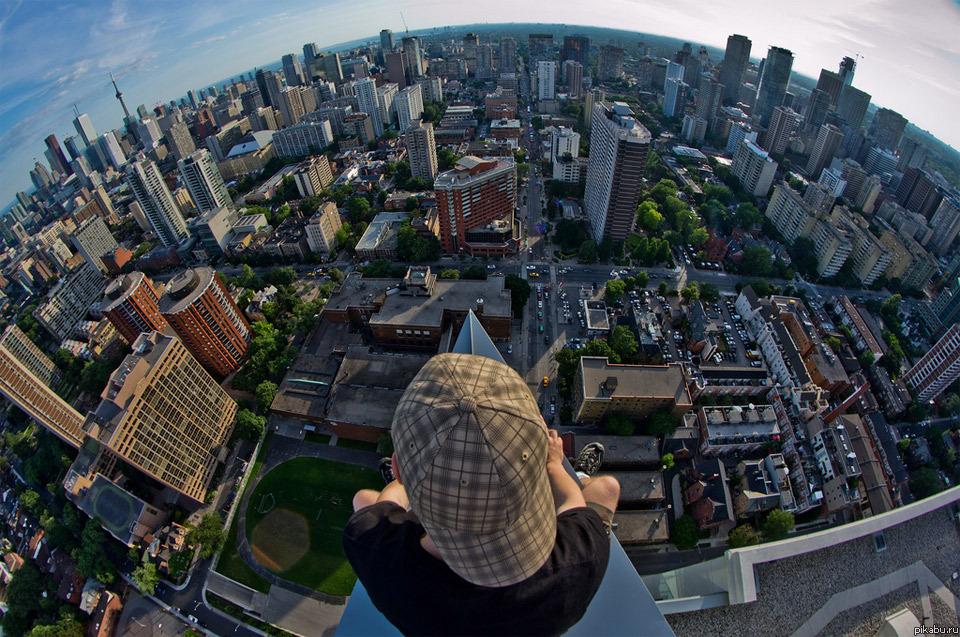 фото сверху город