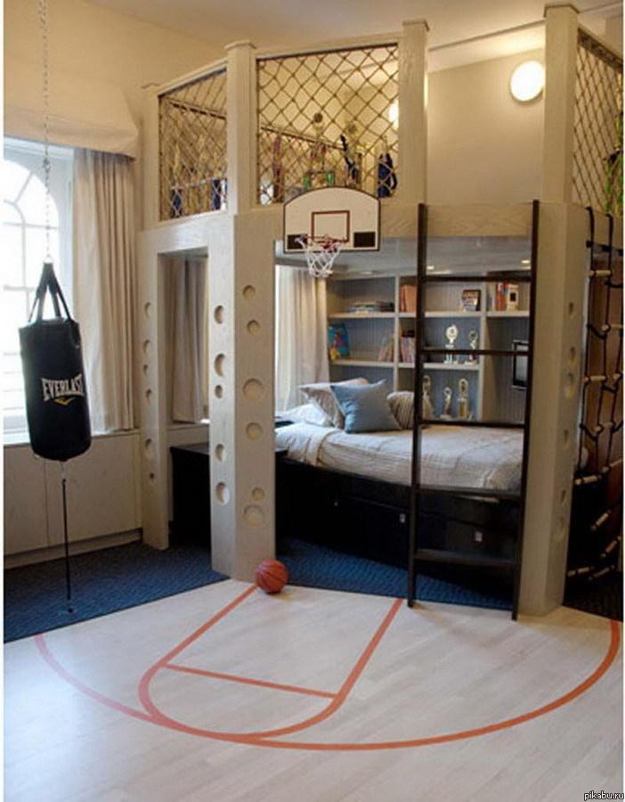спальня для мальчика новорожденного фото