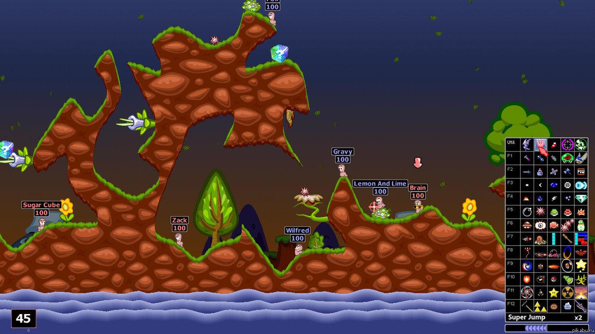 Worms Armageddon - Battle Pack v3.6.29 - полная русская версия