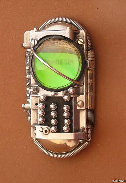 197Стимпанк своими руками телефон