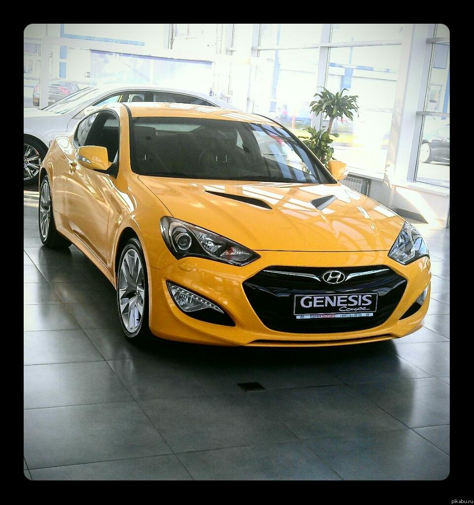 Новый Hyundai Genesis Coupe. Андрюха, мы сможем! Описание в комментах