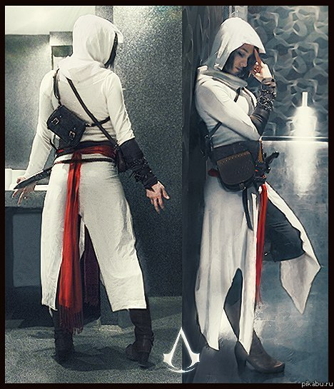 Косплей Assassins Creed / Мобильная версия Pikabu.