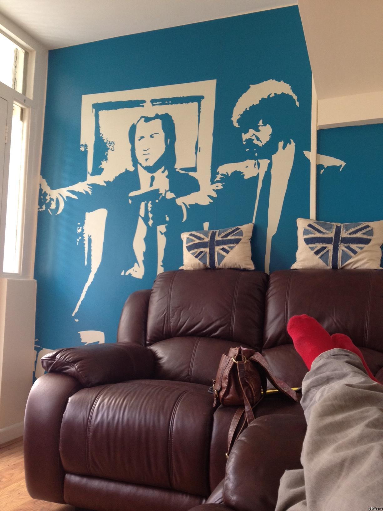 Рисунок на стене картинки и фото