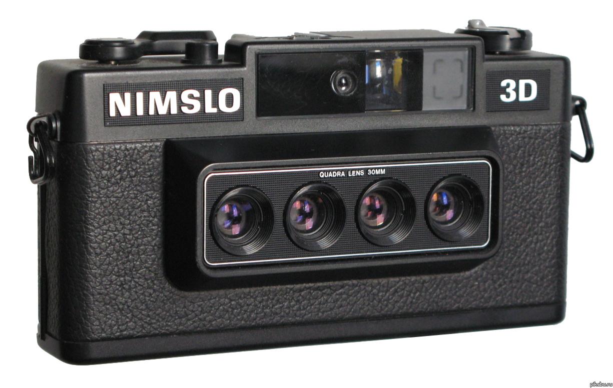3D Фото Трехмерные фотографии, снятые на этот странного вида фотоаппарат Nimslo 3D, выглядят очень эффектно.   (сами фотки в комментах) Интересное