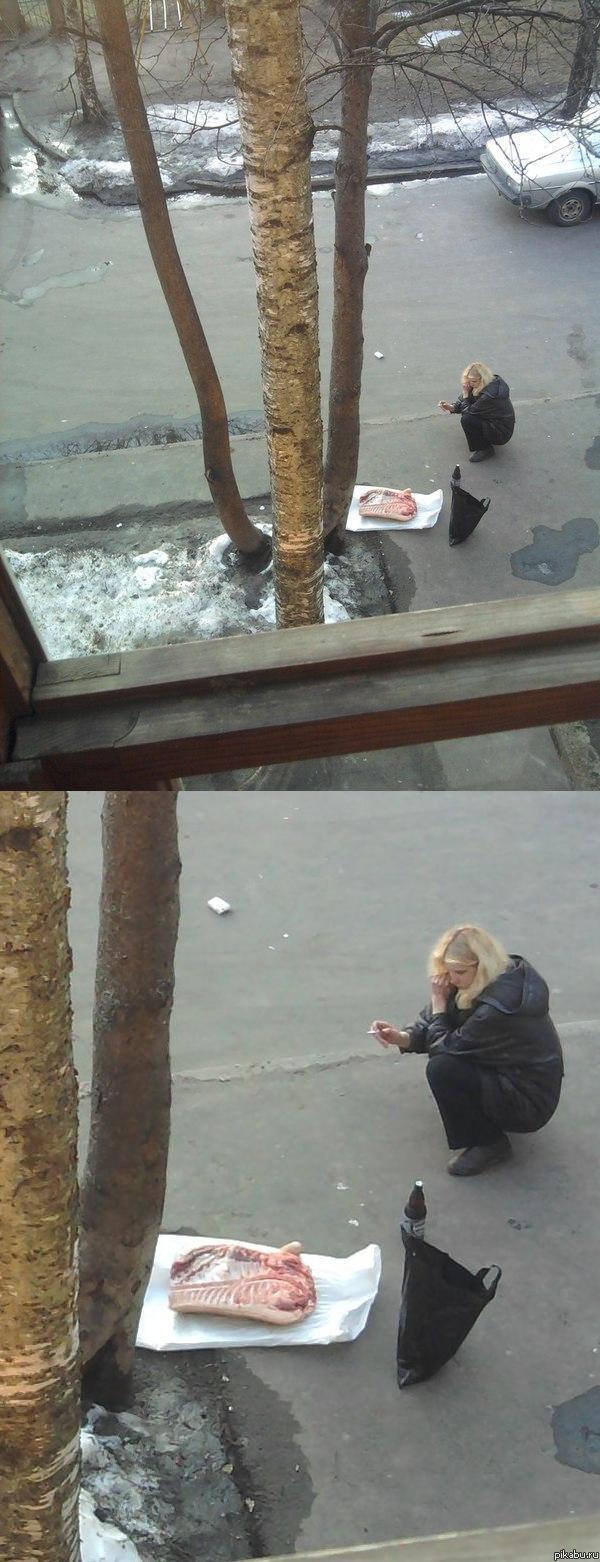 Раком на улице соседку 1 фотография