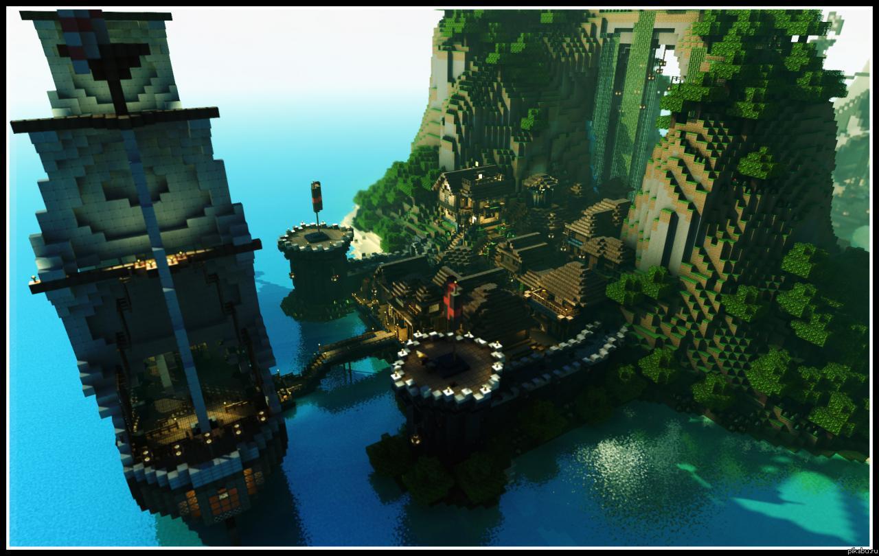 скачать моды на майнкрафт 1.7.10 на замки с пиратами #1