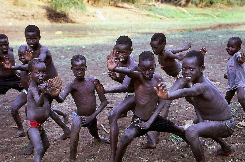 Почему у темнокожих большой ч 8 фотография