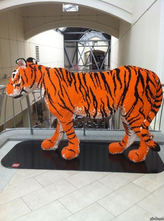 Тигр сделан своими руками 157