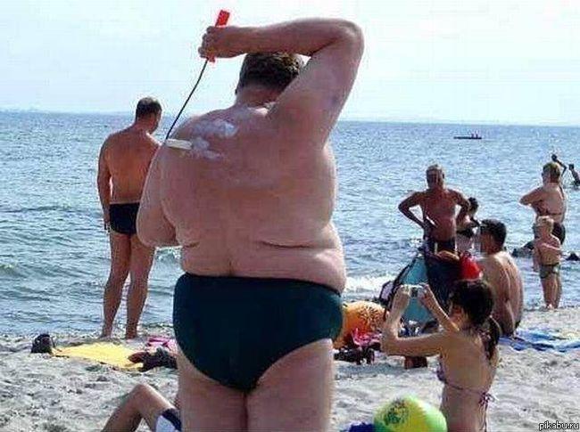 Самые смешные фото на пляже