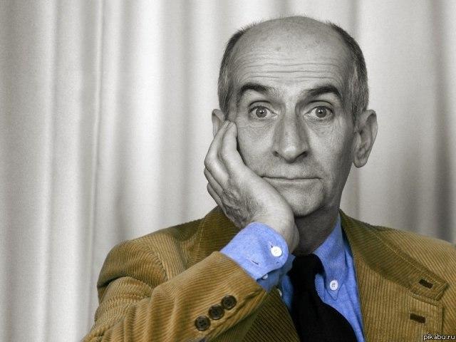 Обои face, актер, actor, лицо, комик, Луи де Фюнес, comedian, Louis de Fune