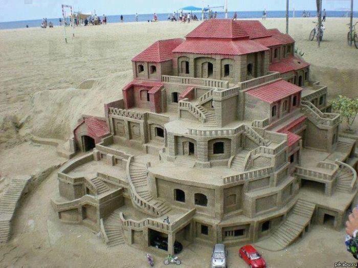 Как сделать мир из песчаника