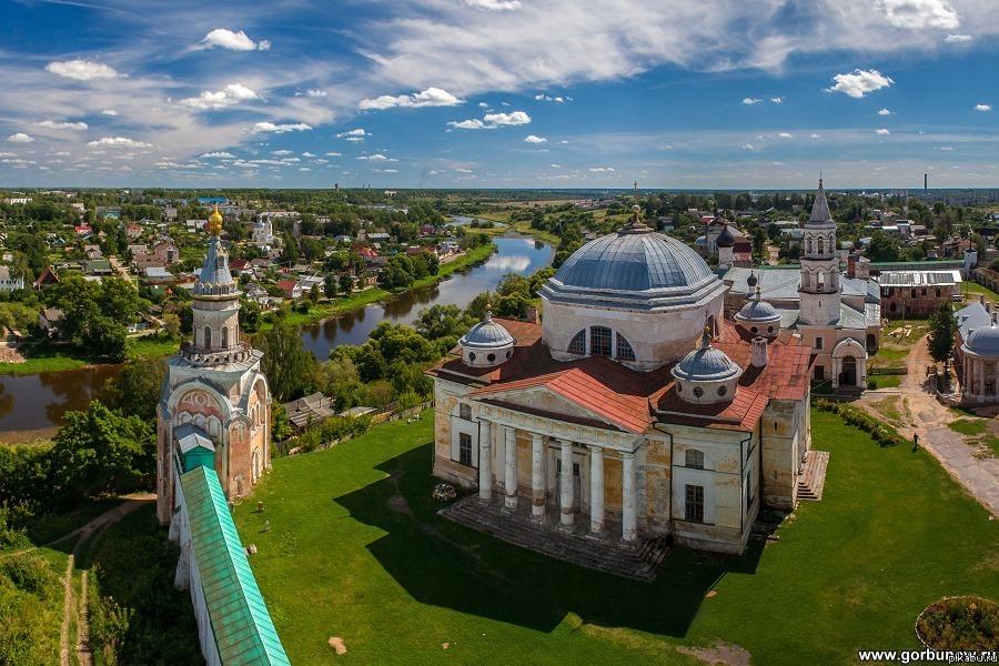 Торжок: Борисоглебский монастырь