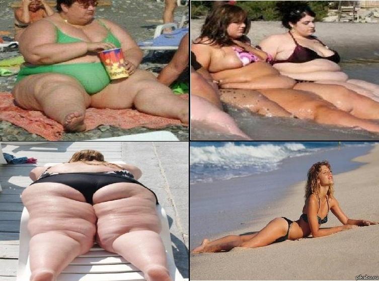 Эротика толстые на пляже25