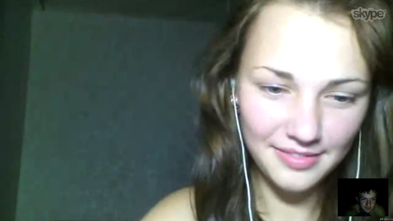 Угарный разговор с девушкой по скайпу смотреть 2 фотография